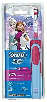 Oral-B Stages Power Kids Electric Toothbrush Frozen Children Teeth Care