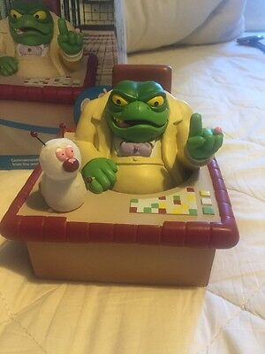 "Limited Edition Danger Mouse ""Baron Greenback and Nero"" Statuette"