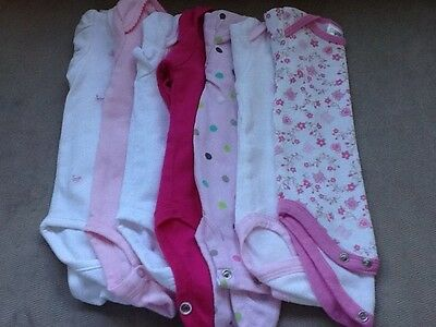 Lot of 7 - Girls - Onsies Shirts - Size 3-6 Months - Carter's Baby Gear