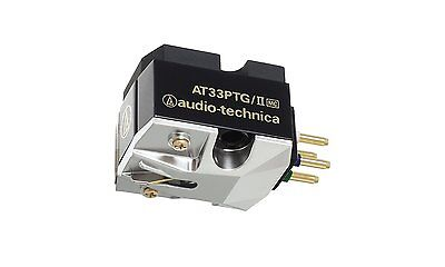 Audio Technica AT33PTG/II Dual Moving Coil Cartridge + Micro Linear Stylus