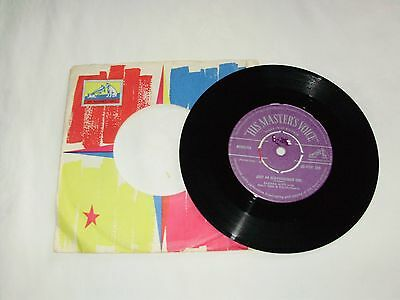 """Eartha Kitt Just An Old-Fashioned Girl 7"""" Vinyl In Mint Condition!"""