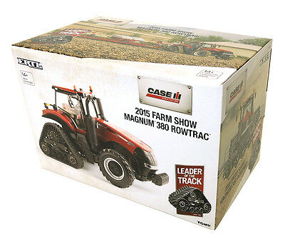 Case/ih Magnum 380 Rowtrac Tractor 2015 Farm Show 1/32 Scale