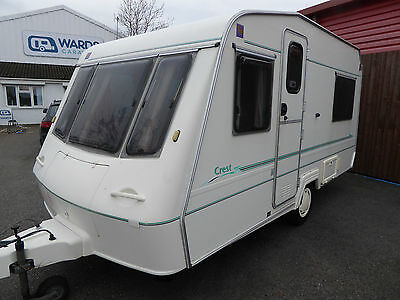 Crown (Elddis) Crest 4 berth 1999 AWNING ***LOVELY CONDITION***