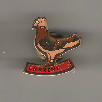 pin's...pigeon...bird...CHARENTE...COLOMBOPHILE