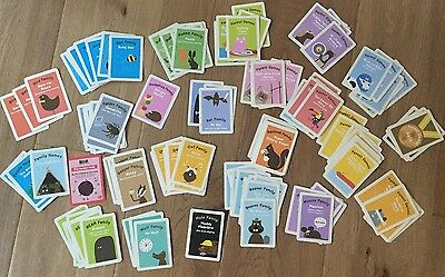 Stack Collectible BEAR YOYO FACT CARDS animal familes forest games family homes