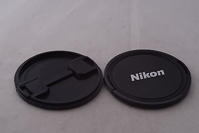 Two Nikon 72mm Front Lens Caps in Excellent Condition
