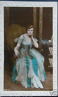 Gladys Cooper ~ Real Photo ~ Rose & Ivy Embossed Card