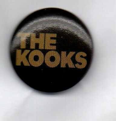 THE KOOKS BUTTON BADGE -BRITISH INDIE ROCK BAND Inside In / Inside Out 25mm PIN