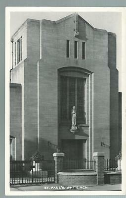 Old Postcard  M & L   St Paul's    Whiteinch    Scotland   Posted  1965