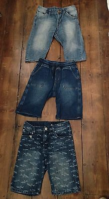 Boys Denim Shorts - H&M - Age 7-8