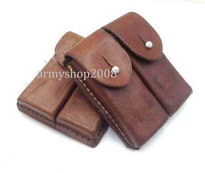MILITARY Surplus Original Chinese Tokarev Leather Pistol Ammo Pouch