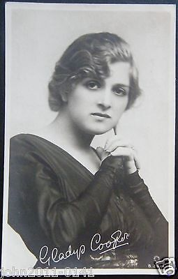 Gladys Cooper ~ Real Photograph ~ Rotary