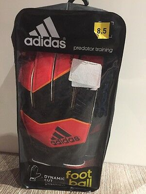 Adidas Predator Training Keeper Gloves Size 8.5
