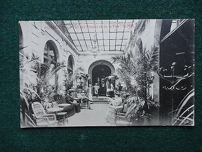 Antique French Postcard Prince of Wales Hotel Edward VIII Tutor to Housekeeper