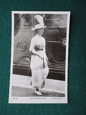 Antique Photographic Postcard King George V daughter Mary Princess Royal