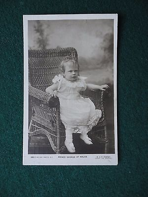 Antique Photographic Postcard Prince George as a Baby King George V