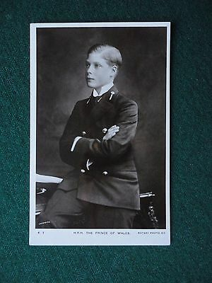 Antique Photographic Postcard Prince of Wales later King Edward VIII