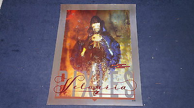 The Pixies - Velouria - Original UK 4AD Promo Poster (Vaughan Oliver)