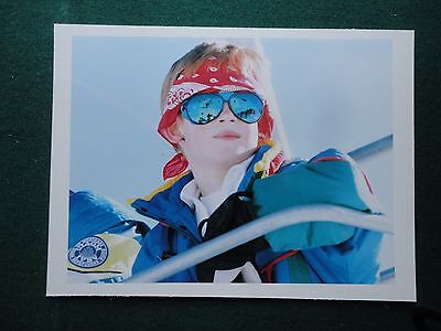 Antique Press Photo Prince Harry as young boy Skiing Klosters 1994 Switzerland