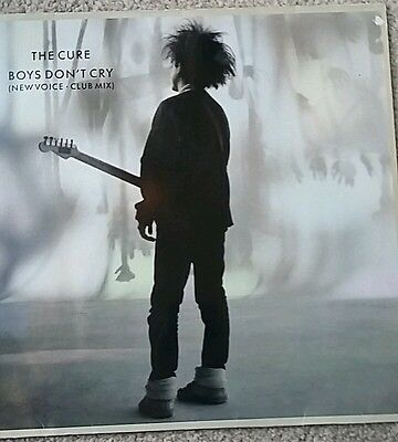 "The Cure - Boy's don't cry - New voice club mix 12"" vinyl"