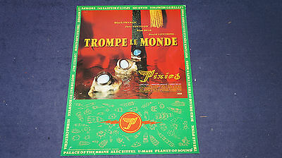 The Pixies - Trompe Le Monde - Original UK 4AD Promo Poster (Vaughan Oliver)