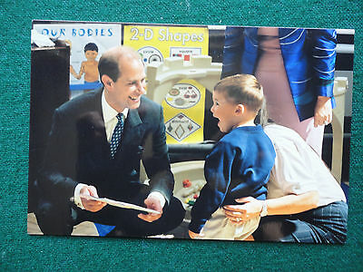 Antique Unpublished Private Photo Prince Edward with Children