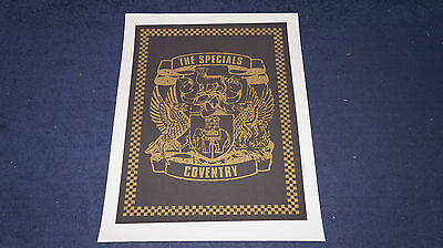 The Specials - Coventry - 2011 Lithograph / Poster (2 Tone)