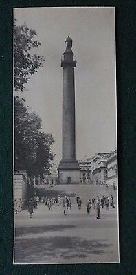 Fine Original Antique Photo Statue of Duke of York from The Mall in the 1930s