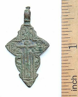 Ancient Old Believer Bronze Cross Female (NBR02)