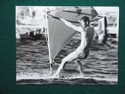 Press Photo of a Young Prince Charles at the Sea - Water Sports