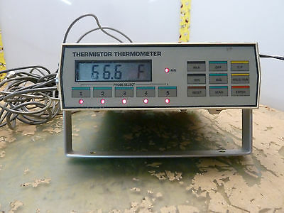 DigiTec 5830 Thermistor Thermometer with 5 probes (22-A.17)