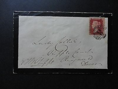Signed Cover Queen Victoria's Equerry Beaumont Phipps to Lady Collier Privy Wax