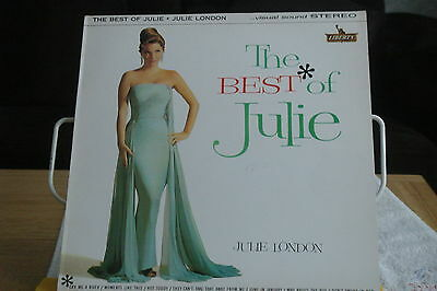 JULIE LONDON- The Best of Julie- UK LP-NM-STEREO-Liberty