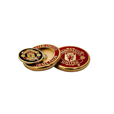 Manchester United Duo Golf Ball Marker Set - New Official Licensed Product