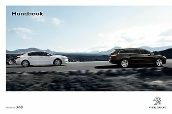 PEUGEOT 508 HYBRID 2013 AND ON  Handbook Owners User Manual Guide NEW GENUINE