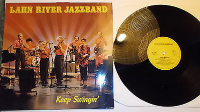 LP LAHN RIVER JAZZBAND - Keep Swingin' DE 1987 mint Privatpress. Jazz aus Hessen