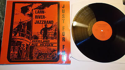LP LAHN RIVER JAZZBAND - Just For Fun DE 1981 mint- Jazz aus Hessen Privatpress.