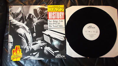 LP NAT KING COLE TRIO - The Vocal Sides 1943/49 DE 1991 MINT Mono Hist.Radio Rec