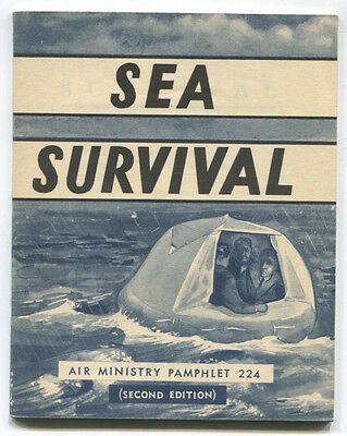 Air Ministry Sea Survival Booklet 1957