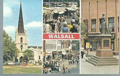 Old Postcard   Dennis    Four Views     Walsall  West Midlands    Not Posted