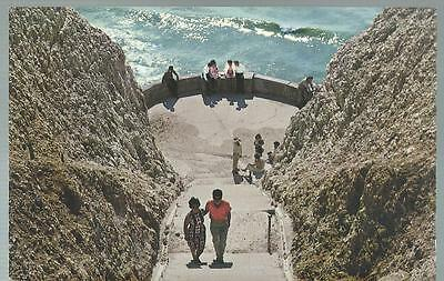 Old Postcard   Bastion Step's   Peacehaven   Sussex     Not Posted