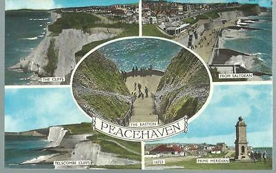 Old Postcard   Five Views    Peacehaven   Sussex     Not Posted