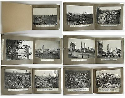 24 Official Photos Of WW1 - Troops Trenches Prince Of Wales War Destruction