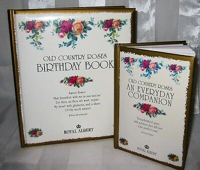 Royal Albert - Old Country Roses - Birthday Book & Companion Address Book