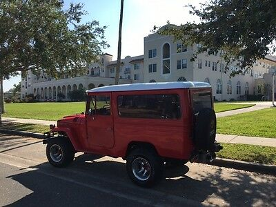 1970 Toyota Land Cruiser RED Classic 1970 Toyota FJ43 Land Cruiser - 4X4 - RED - Beautiful Inside and Out