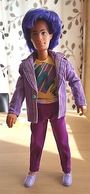 Vintage 80's Jem & The Holograms Rio Doll With Complete Original Outfit & Shoes