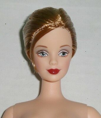 BARBIE Brunette 40th Anniversary  Nude Doll Mackie Face