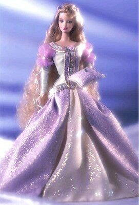 Princess And The Pea Barbie Doll, Princess Series Collection, 28800, 2001, Nrfb