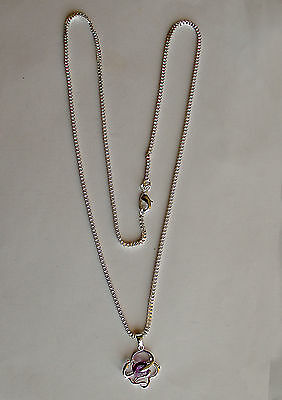 "BEAUTIFUL - 925 SILVER NECKLACE - Chain 24"" - NEW"