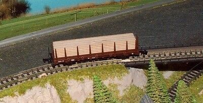 DB stake wagon with wood load      by ARNOLD    N Gauge (6)
